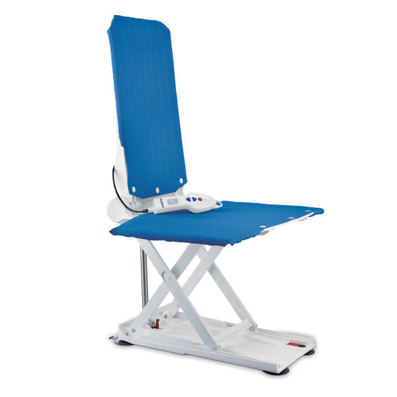 Aquatec Reclining Back Bath Lift, Blue