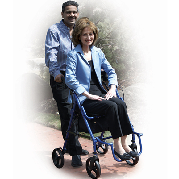 Drive Medical ,Duet Transport Chair and Rollator