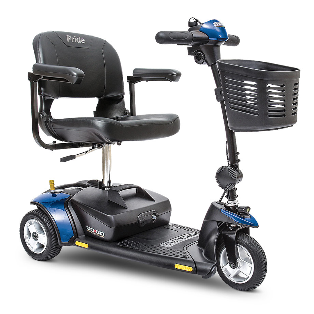 Pride Go-Go Elite Traveller® 3-Wheel Travel Scooter