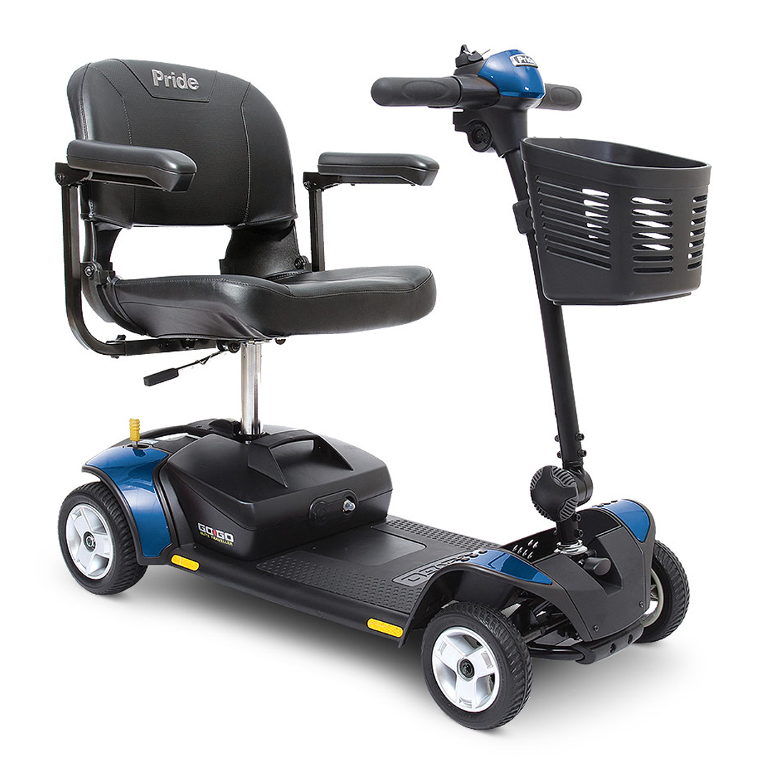 Go-Go Elite Traveller® 4-Wheel Travel Scooter
