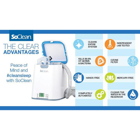 SoClean 2 CPAP Cleaner and Sanitizer - Medical Equipment Specialists