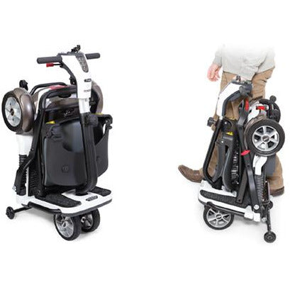 Pride Go-GO Folding Travel Scooter - Medical Equipment Specialists