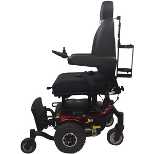 Used J6 Quantum Power Wheelchair- Captains back and Rehab Seat