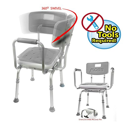 MOBB Swivel Shower Chair - Medical Equipment Specialists