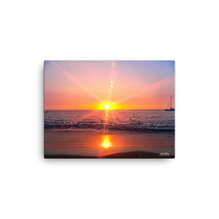 Abay Sunset Prism Giclée Canvas Photo Print - Size: 12x16 (Full Style) - Shella Island Products,, Canvas Prints - Yoga Leggings, Shella Island Products - Asana Hawaii