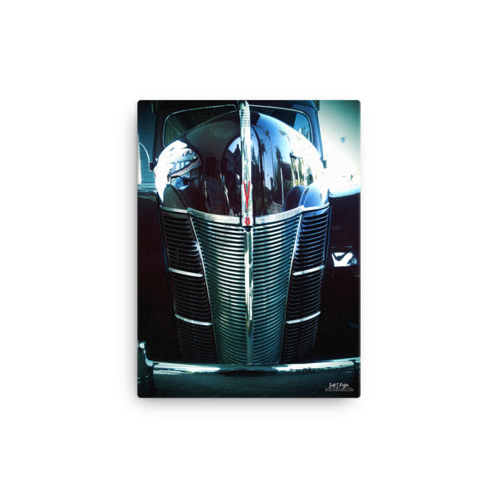Old School V8 Giclée Canvas Photo Print: Size: 12x16 (Full Size)