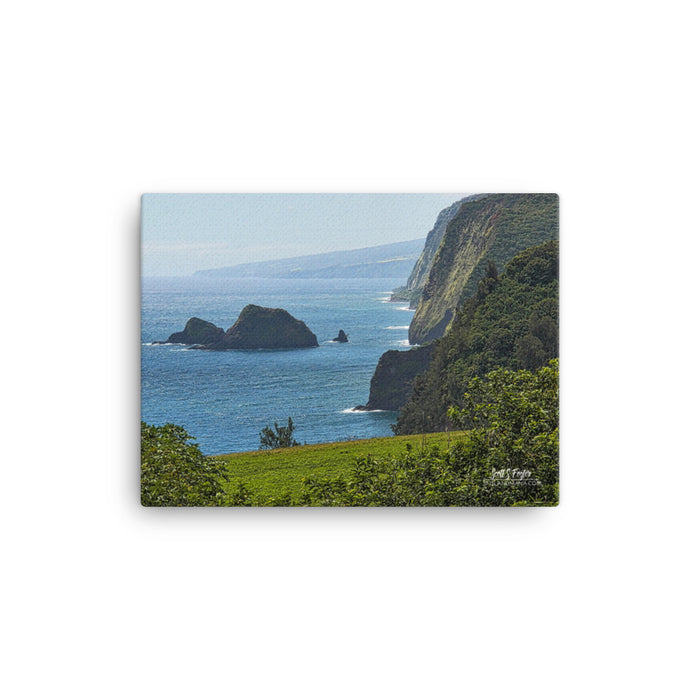Pololu Valley Lookout Giclée Canvas Photo Print - Size: 12x16