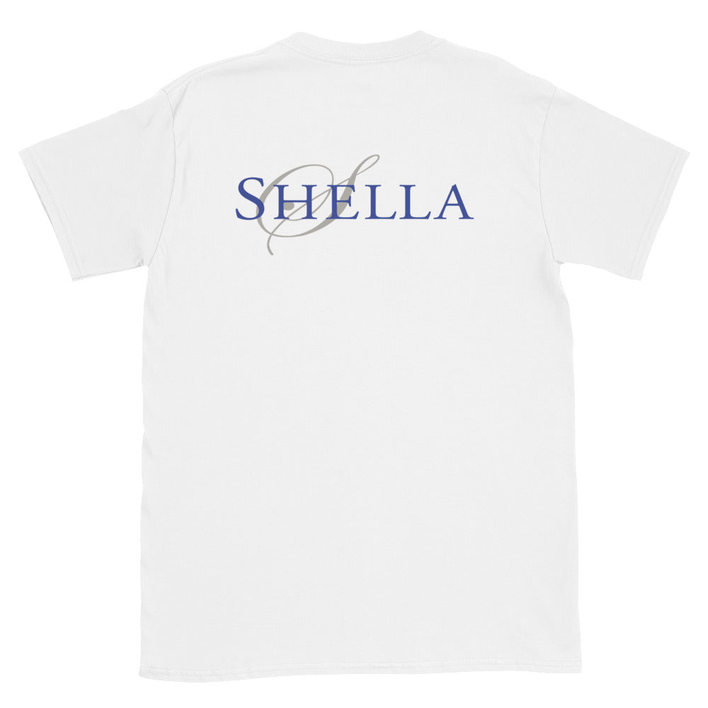 Shella Logo Unisex T-Shirt - Shella Island Products,, T-Shirts - Yoga Leggings, Shella Island Products - Asana Hawaii