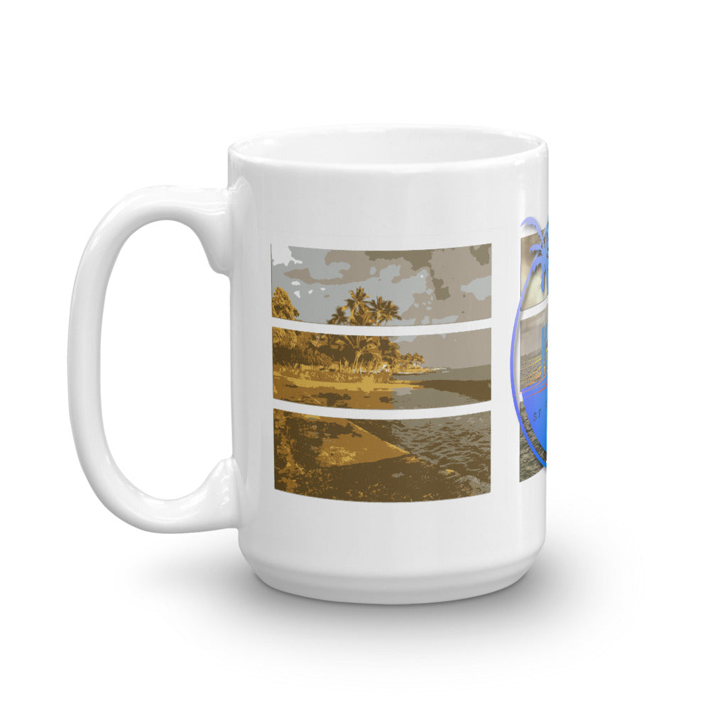 Kailua Kona Bay Mug - Shella Island Products,, Mugs - Yoga Leggings, Shella Island Products - Asana Hawaii