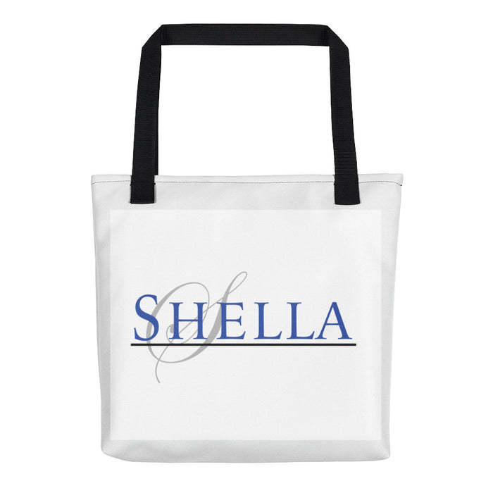 Shella Ohana Company Tote bag - Shella Island Products,, Tote Bags - Yoga Leggings, Shella Island Products - Asana Hawaii