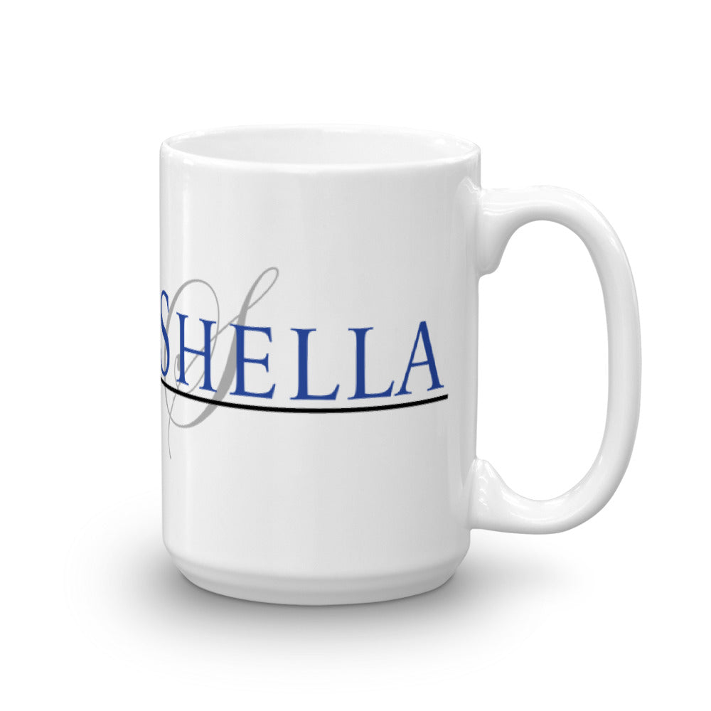 Shella and Shella Island Products Mug - Shella Island Products,, Mugs - Yoga Leggings, Shella Island Products - Asana Hawaii