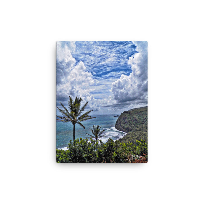 Parting of the Heavens at Pololu Valley Photo Giclée Canvas Print- Size: 12x16 (Full Size)
