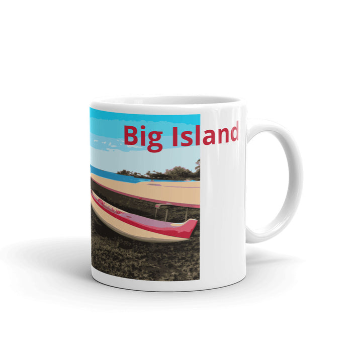 Hilo Canoes Mug - Shella Island Products,, Mugs - Yoga Leggings, Shella Island Products - Asana Hawaii