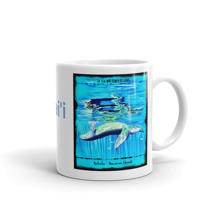 Humpback Whale Hawaii Mug - Shella Island Products,, Mugs - Yoga Leggings, Shella Island Products - Asana Hawaii