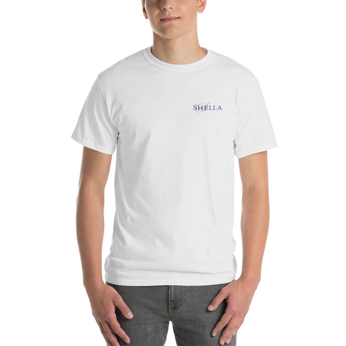Shella Short-Sleeve White T-Shirt