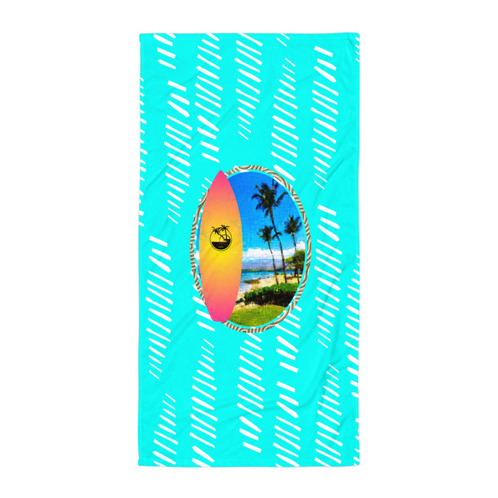 Kohala Coast Beach Towel