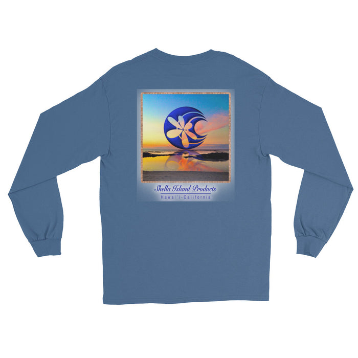 Shella Island Products Ocean Reflective Long Sleeve T-Shirt