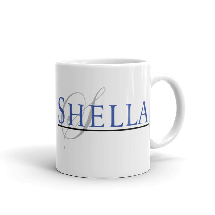 Shella and Shella Island Products Mug