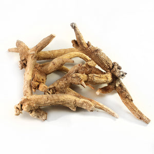Prongy ginseng roots