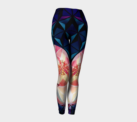 Geodesic Floral Leggings