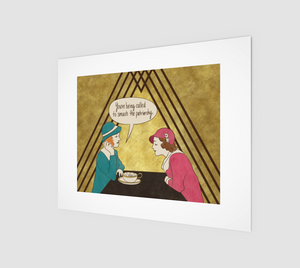 Tea and Patriarchy Art Print