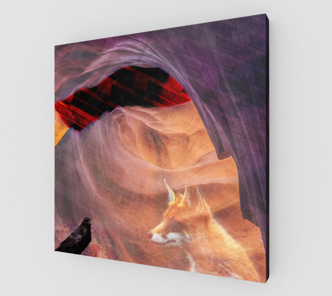 Dream Canyon Canvas