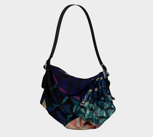 Geodesic Floral Origami Tote