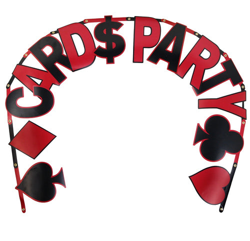 CARD PARTY BANNER