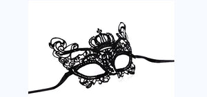 FLIRTY LACE MASQUERADE MASK