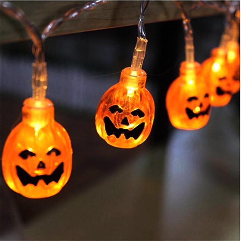 Jack O Lantern String Lights