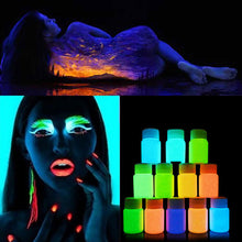 Luminescent Body Paint