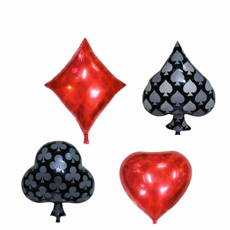 POKER PARTY BALLOONS