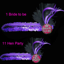 Sequin Hen Party Headbands
