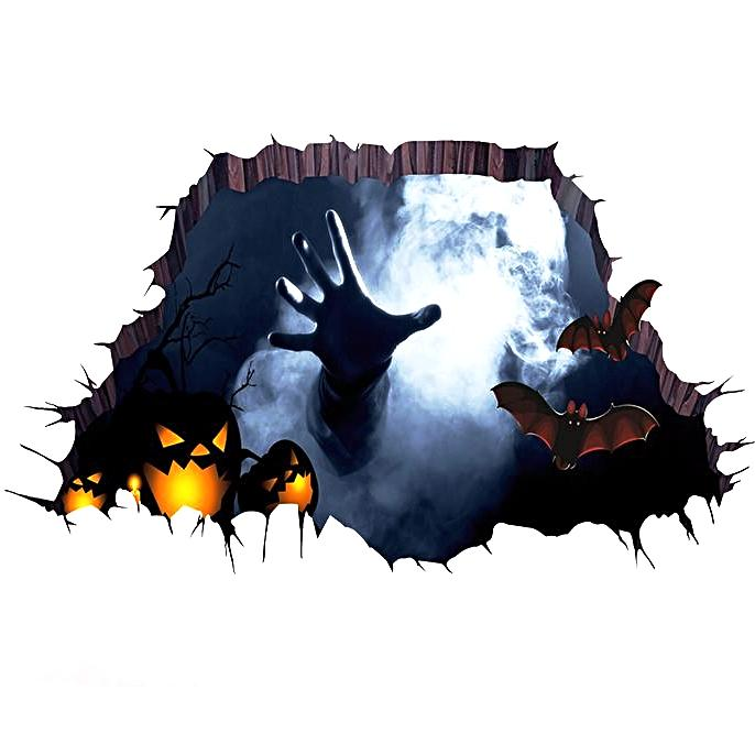 3D HALLOWEEN FLOOR/WALL DECAL
