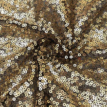 DEEP GOLDEN SEQUIN CLOTH