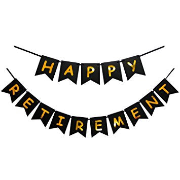 HAPPY RETIREMENT BANNER