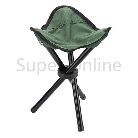 Lightweight Folding Portable Outdoor Camping Hiking Fishing Stool Picnic Beach Garden BBQ Stool Tripod Three Feet Chair Seat