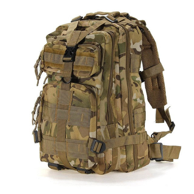 30L Unisex Outdoor Sport Military Tactical Backpack Camping Hiking Bag Rucksacks travel Mountaineering outdoor climbing bag