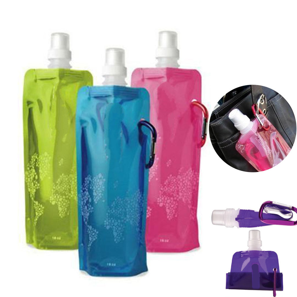 Portable Foldable Water Bottle Bag