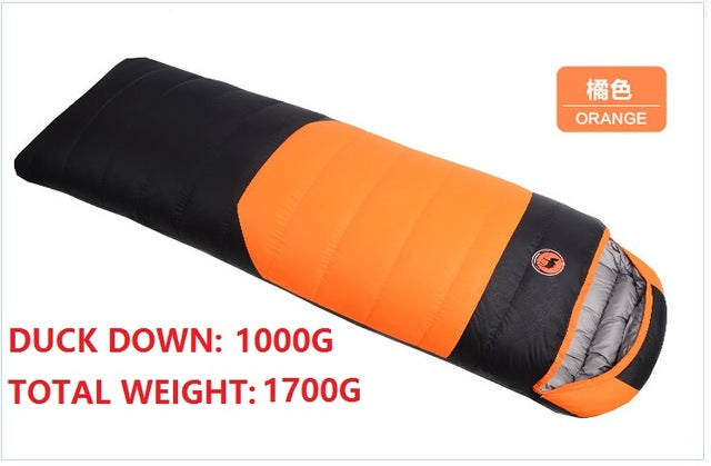 2017 Camcel 1.5/1.7kgs Ultralight Camping Sleeping Bag Envelope White Duck Down Sleeping Bag Comfortably Goose Down Sleeping Bag