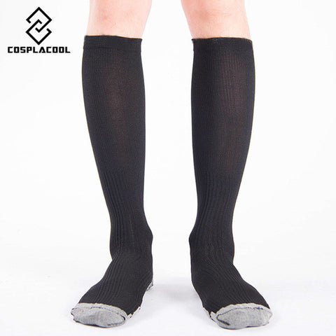 [COSPLACOOL]Happy Unisex Socks Firm Pressure Circulation Quality Knee High Orthopedic Support Stockings Hose Compression Socks