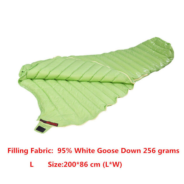AEGISMAX Outdoor Camping  Ultralight 95% Goose Down Mummy  Sleeping Bag Three-Season Down Sleeping Bag Outdoor Lazy bag