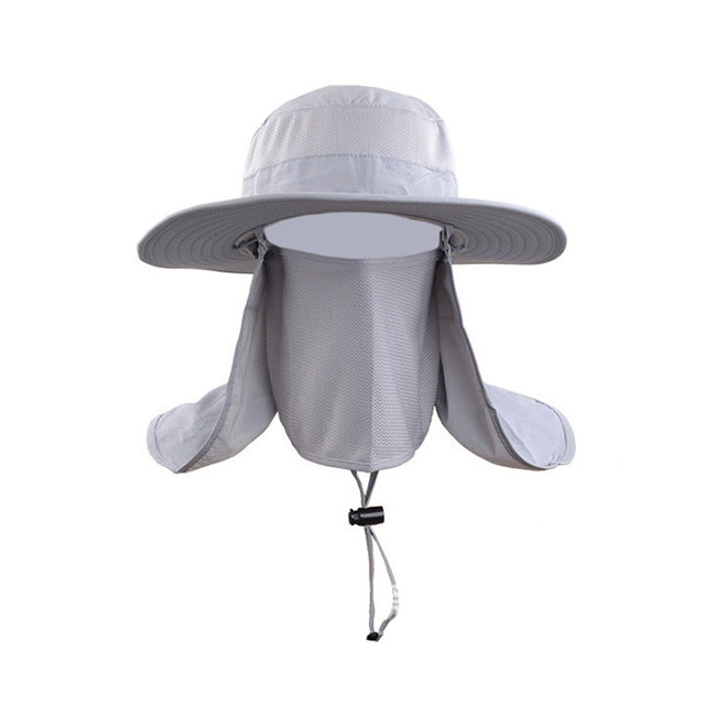 Waterproof Bucket Hat and Face Cover SPF 30+