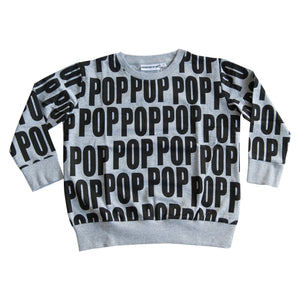 POP sweat Grey