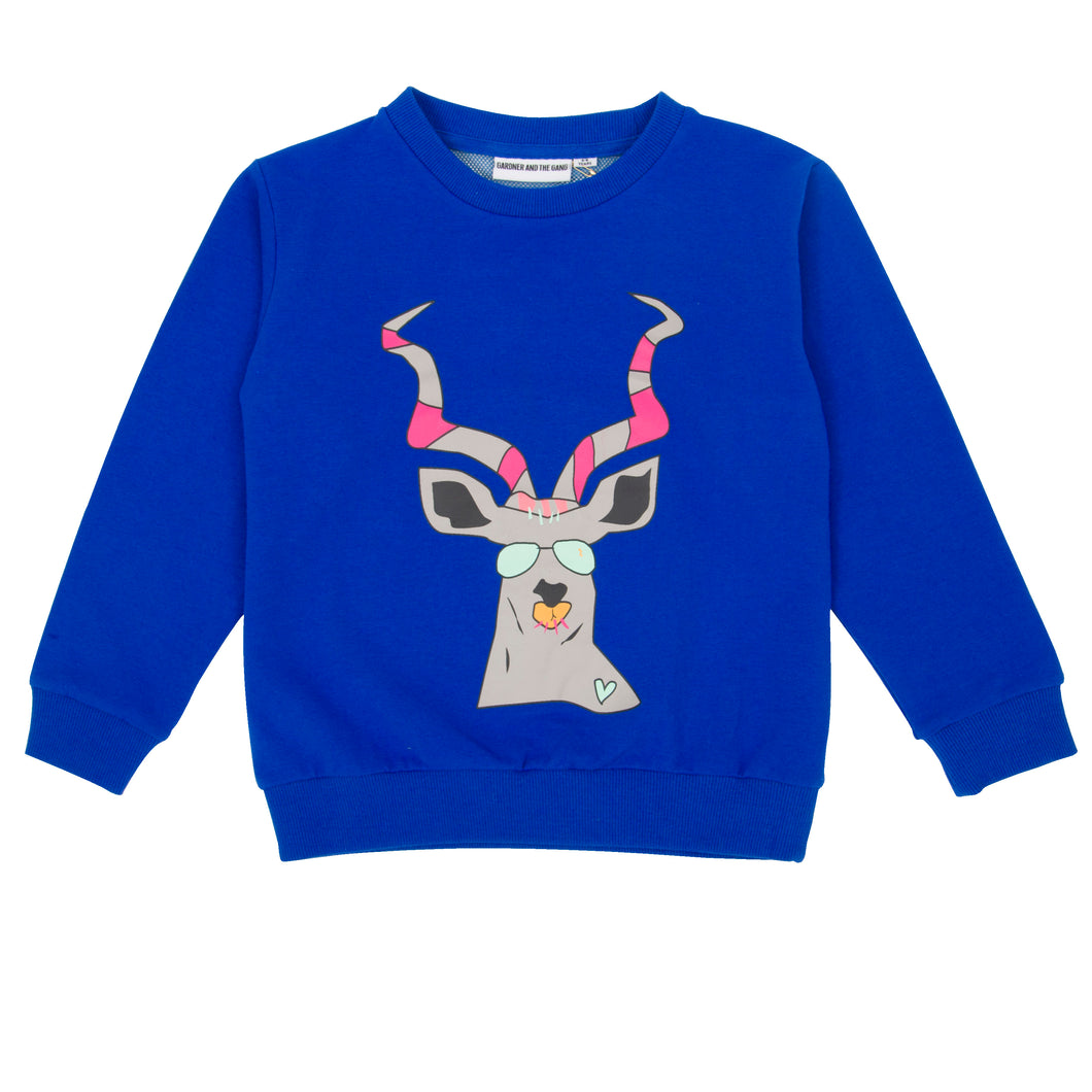 The Classic Sweatshirt Mesh Back Fred Antilope