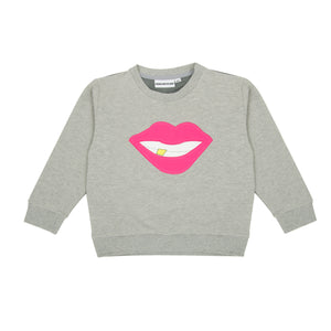 The Classic Sweatshirt Mesh Back Smile