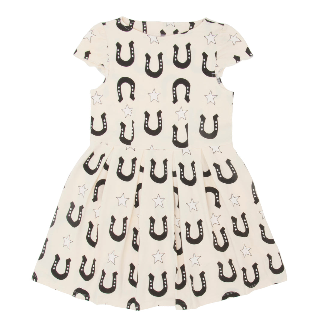 Stars and Unicorns CREME dress