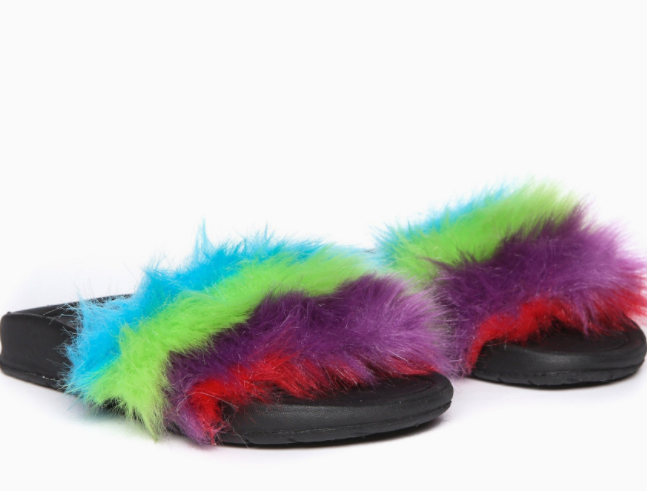 Furry Slippers AKID