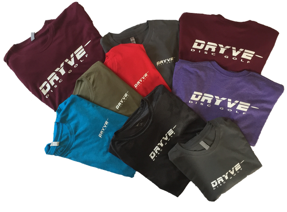 DRYVE DISC GOLF T Shirts
