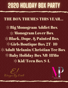 2020 Holiday Box